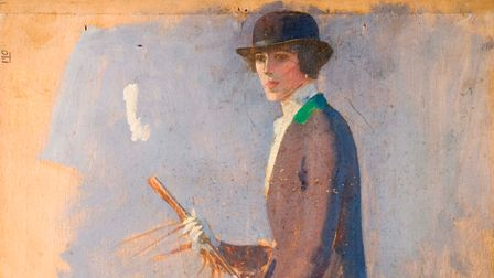 Duchess of Westminster on horseback by Sir Alfred Munnings