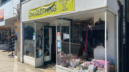 New clothing store on King Street.