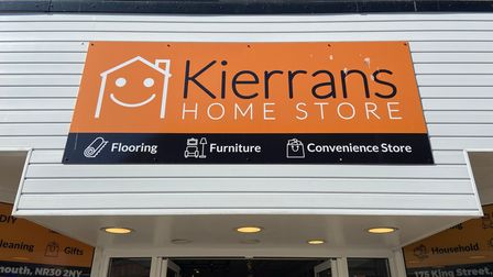 New store front for Kierran's Home Store