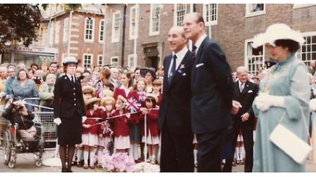 Prince Philip attended a Taxi Charity event in Worthing in 1979