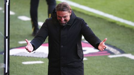 Daniel Farke cut a frustrated figure in Norwich City's early season 1-0 defeat at Bournemouth