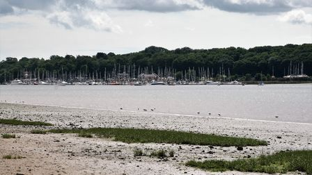 Woolverstone Marina from the Nacton Foreshore. Picture: PAUL GEATER