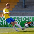 Ryan Law of Torquay United during the National League match between Torquay United and Weymouth at P