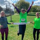 Harold Wood runners taking part in the Royal Parks race