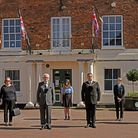One Minute Silence on Huntingdon Market Square today.