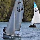 Tony Hale and Roger Morse of Welwyn Garden City Sailing Club