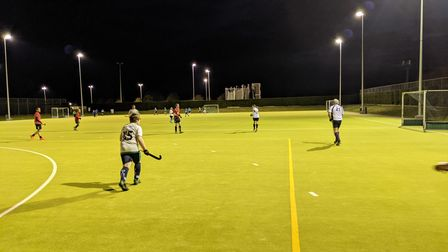St Ives Hockey Club in action