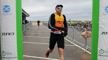 Dave Brown from Torbay Tri Club