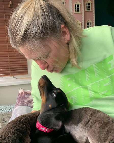 Animal lover Tracy Eaton of Maccy G Pets in Norwich