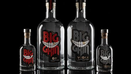 The Big Grin Distillery range