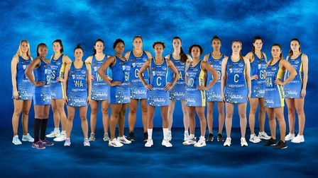 Team Bath, one of the top national netball sides,