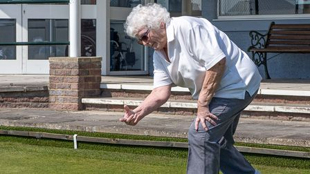 Nailsea Bowls Club's women's captain Jan Chivers starts the new season