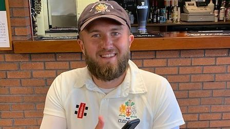 Connor Hance took three wickets for Cleeve against Hambrook