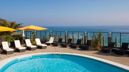 Carbis Bay Hotel outdoor pool