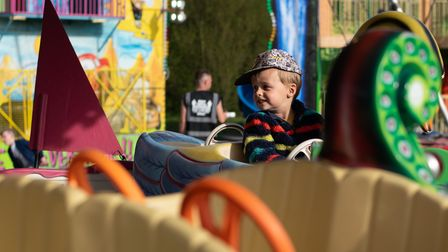 Families enjoyed an evening of fun at Stocks fair in Bramford Road. Picture: Sarah Lucy Brown