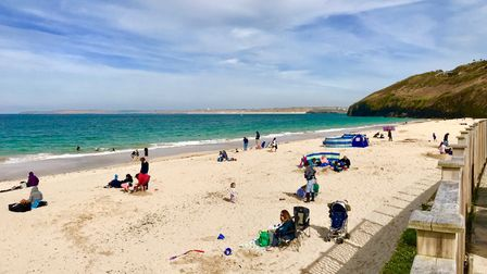 Carbis Bay Beach in Cornwall