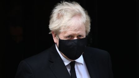 Prime Minister Boris Johnson, who appears to have had a haircut on the first day of the easing of lo