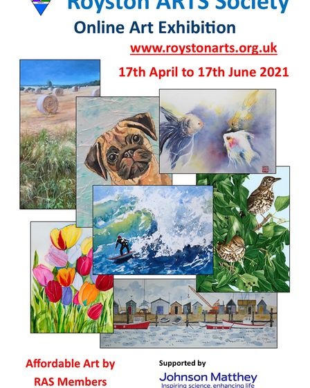Royston Arts Society is holding its annual members' exhibition