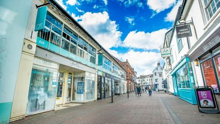 Sidmouth shops