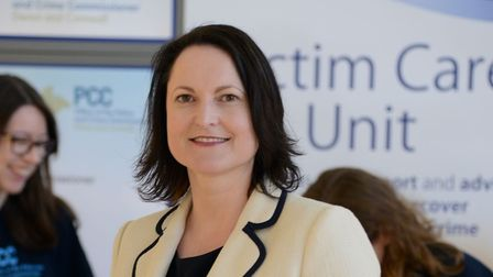 Alison Hernandez, Police and Crime Commissioner for Devon and Cornwall.