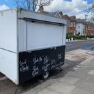 Thediscarded fast-food trailer in Grasmere Road was the bone of much contention