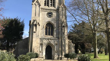 The bells at St Mary's Church in Huntingdon were tolled 99 times - one for every year of the Duke's life.