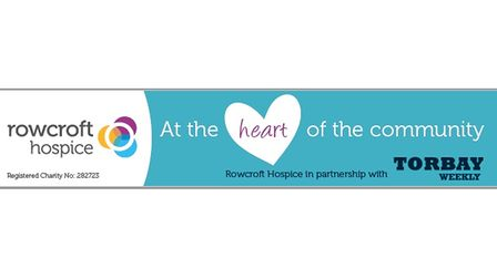 Torbay Weekly is raising money for Rowcroft Hospice.