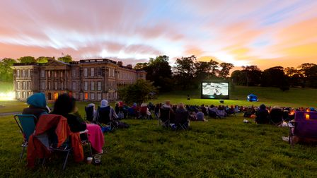 One of QUAD's Summer Nights outdoor film screenings in Derbyshire