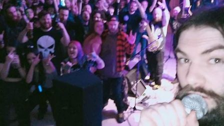 The last crowd at the Music Room in Ipswich in February 2020