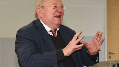 Former Ilford South MP Mike Gapes