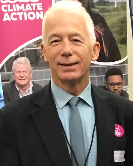 Saffron Walden: Edward Gildea (Green Party) is standing as a candidate in the Essex County Council election