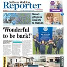 Saffron Walden Reporter's front page, March 11 2021