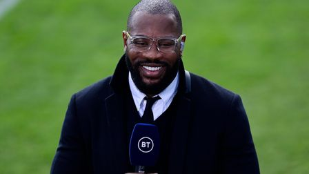 Ugo Monye during the Gallagher Premiership Rugby Match between Bath Rugby and Leicester Tigers at th