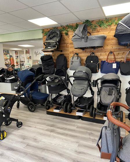 Baby and nursery retailer Cloud Nine opened in Hitchin on April 12, and is home to a catalogue of products