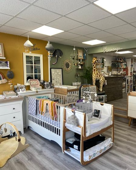Cloud Nine Baby Boutique is the latest business to establish itself in Hitchin, and opened as lockdown restrictions eased