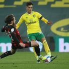 Dimitris Giannoulis was sent off for a foul on Ben Pearson that will rule him out of Norwich City's next three games
