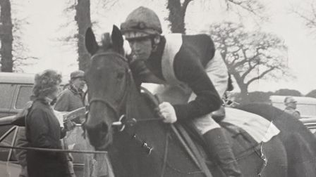 Jimmy Frost in point to point racing