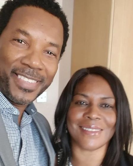 Delrose Smith-Peart and John Peart
