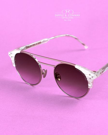 Statement sunglasses from Dipple & Conway