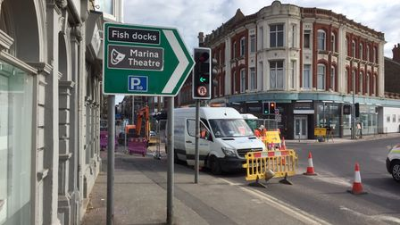 Anglian Water has completed investigations around the A47 Station Square in Lowestoft.