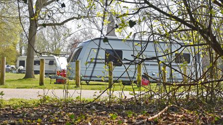 A small number of travellers have set up an encampment near the car park at Bridge Road in Oulton Broad, Lowestoft.