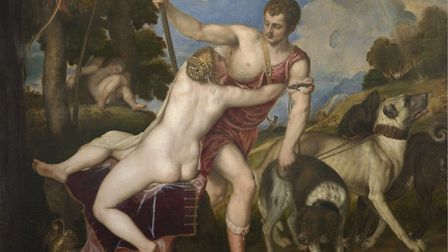 Titian's 'Venus and Adonis' (1554). Picture: The National Gallery