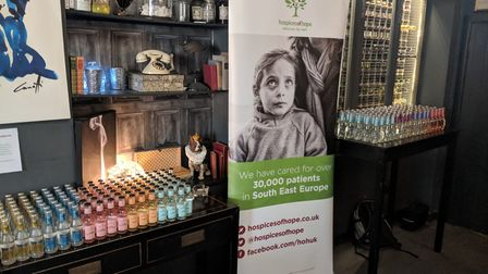 Charity Gin tasting event in Otford Kent for Hospices for Hope on May 20th 2021