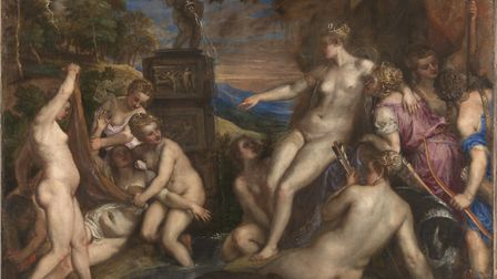 'Diana and Callisto' (1556-59). Picture: The National Gallery London/The National Galleries of Scotl
