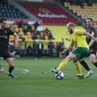 Teemu Pukki of Norwich in action during the Sky Bet Championship match at Carrow Road, NorwichPictu