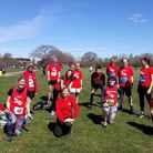 East London Runners at the Chingford League in Dagenham