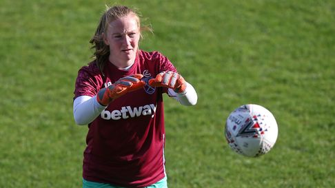 Courtney Brosnan of West Ham United Women