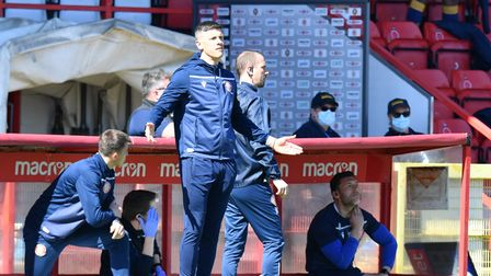 Stevenage FC manager Alex Revell