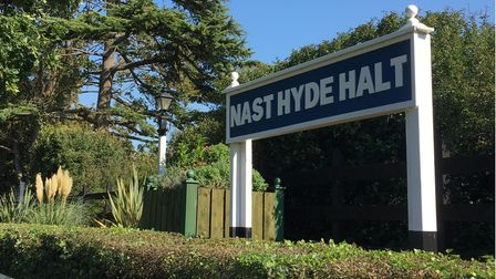 Nast Hyde Halt is one of the stops along the Alban Way between Hatfield and St Albans.