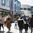 Shops and pubs reopen in Romford Town Centre as Covid restrictions are eased. Picture by Ellie Hosk